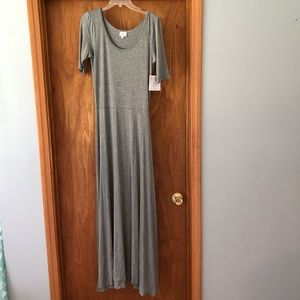 LuLaRoe Gray Ana Dress